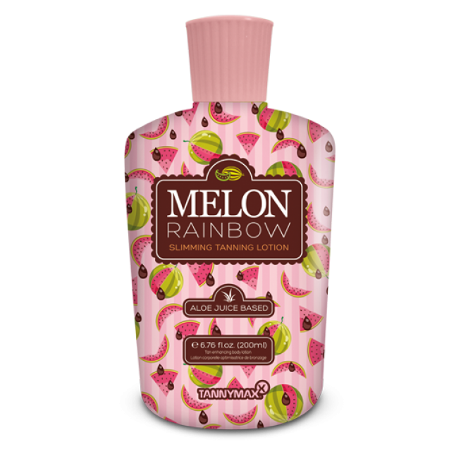 Melon Rainbow Slimming Tanning Lotion 200ml.