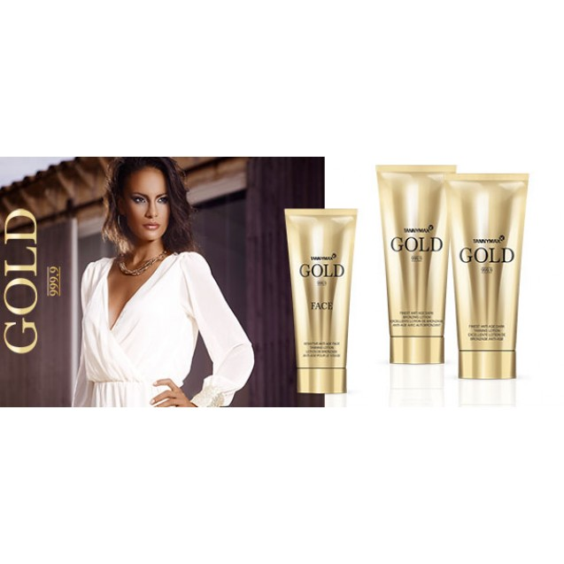 Gold Finest Anti Age Dark Bronzing Lotion 200ml.