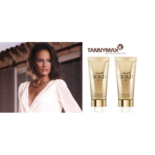 Gold Finest Anti Age Dark Tanning Lotion  200ml.