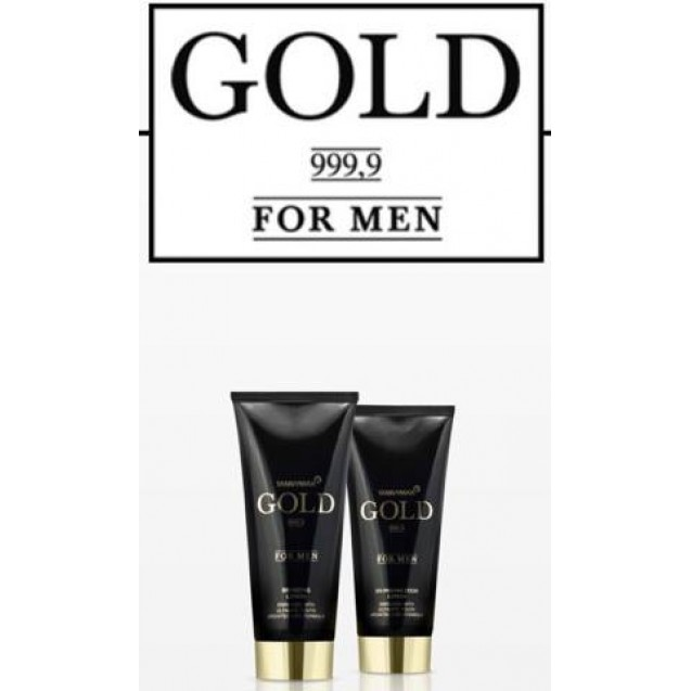 GOLD for men bronzing lotion 200ml.