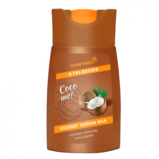 XTRA BROWN Coconut 200ml.